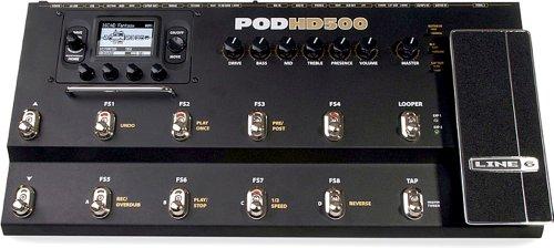 【国内正規品】 Line6 (ライン6) POD アンプシミュレーター HD500