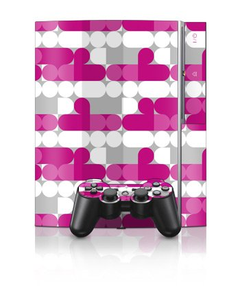 Playstation 3 Skins and Matching (Ps3) Controller Skin Neo Pink