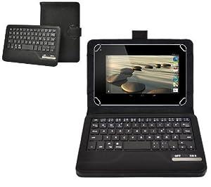 """Ledeli Bluetooth QWERTZ deutsche Tastatur Keyboard Cover Case Schutzhülle für Acer Iconia A 7,9"""" B 7"""""""