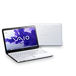 Sony VAIO SVE1511L1EW.CEK 15.5-inch Laptop (White) - (Intel Core i5 2.5GHz Processor, 4GB RAM, 640GB HDD, Windows 7 Edition Home Premium)