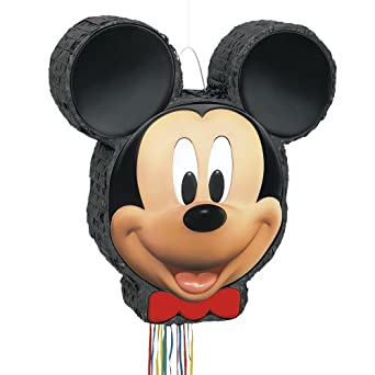 Mickey Mouse Pinata, Pull String