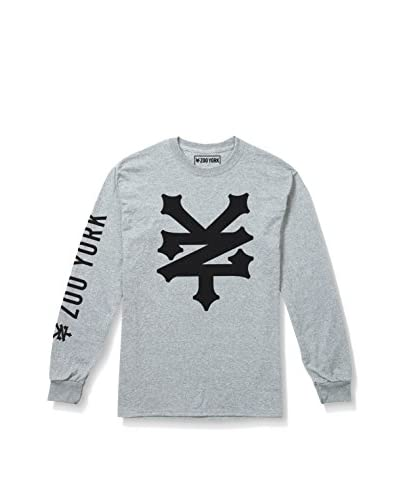 Zoo York Camiseta Manga Larga Corning Gris