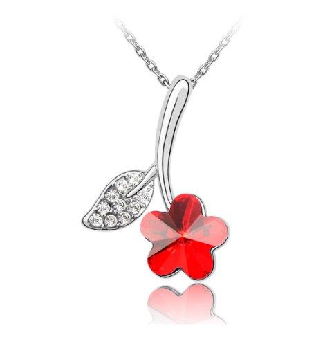 Boxingcat Fine Jewelry Swarovski Style Clear Austrian Crystal Pendant Necklaces Bgca3750 front-269469