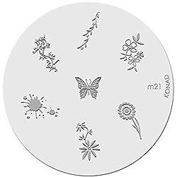 Konad Image Plate Nail Art - M21