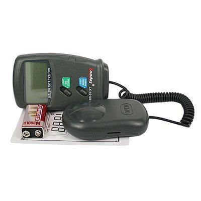 Light Meter LX1010B, 50, 000 Lux Luxmeter with lcd display - Moisture Meters - Amazon.com