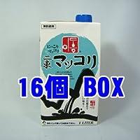 二東マッコリ1L青紙*1BOX (16個)