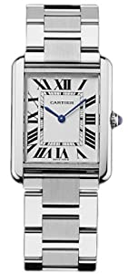 Cartier Men's W5200014 Tank Solo Large Watch by Cartier