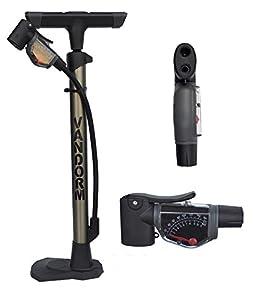 Vandorm Super Lite Alloy Bicycle Lightweight Presta Schrader Universal Bike Tyre Inner Tube Track Pump from Vandorm