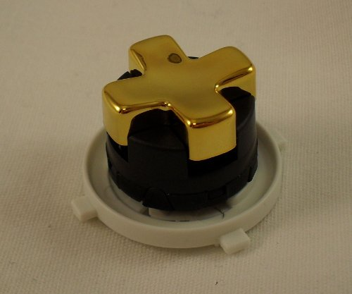 Gold Transforming D-Pad For Xbox 360 Controller (Rotating Dpad)