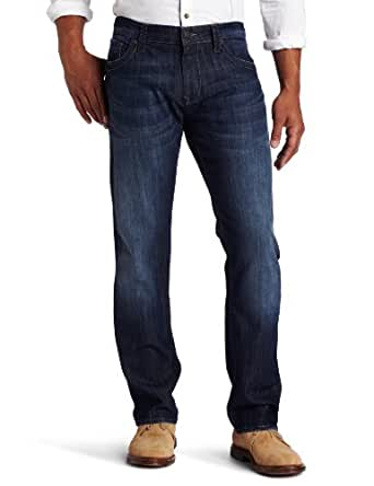Mavi Men's Zach Regular Rise Straight Leg Jean, Dark Maui, 30x32