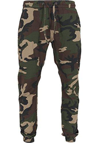 Urban Classics - Jogginghose Ripstop Jogging Pants, Pantaloni sportivi Uomo, Multicolore (Wood Camo), XX-Large (Taglia Produttore: XX-Large)