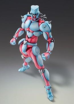 超像可動 「ジョジョの奇妙な冒険」第四部 13.クレイジー・ダイヤモンド (再生産) (荒木飛呂彦指定カラー)約17cm PVC製 塗装済み可動フィギュア