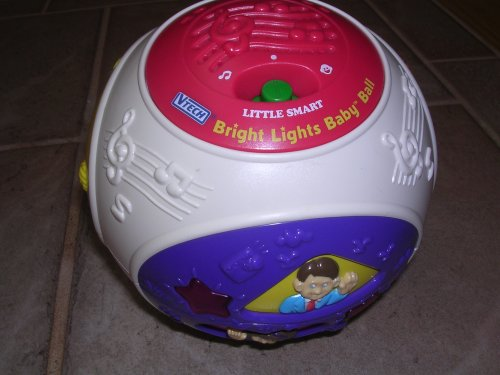 Vtech Little Smart Bright Lights Baby Ball - 1