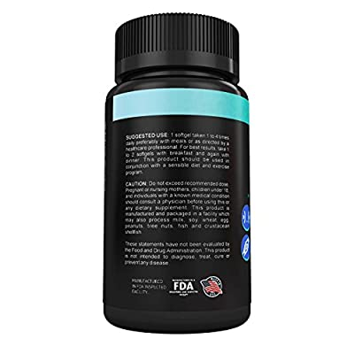 NutraBlast CLA Complex 1000Mg Linoleic Acid from Safflower Natural Weight Loss Supplement - Non-GMO - Supports Immune System, Bone, and Cardiovascular Health - Made in USA (100 Veggie Capsules)