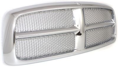 Evan-Fischer EVA17772021833 Grille Assembly Grill Plastic shell and insert Chrome Honeycomb (2004 Dodge Ram 1500 Grill compare prices)