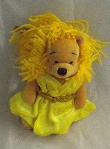 Disney Bean Bag Plush Winnie the Pooh As the Sign Virgo