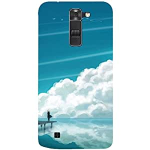 Casotec Clouds Pattern Print Design 3D Printed Back Case Cover for LG K10