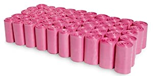 Pink Poop Bags - 1000 Count Dog Waste Bags