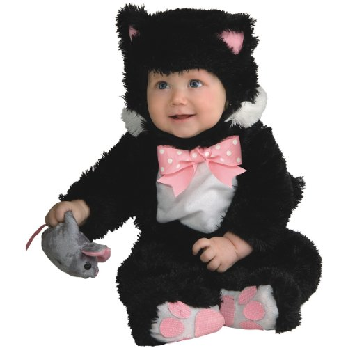 Inky Black Kitty Costume - Newborn