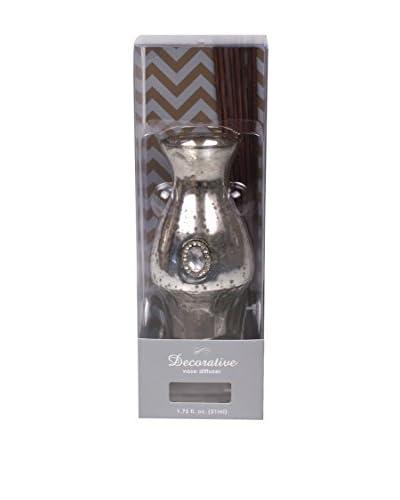Jodhpuri 1.75-Oz. Fresh Linen Mercury Vase Diffuser, White