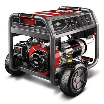 Briggs & Stratton 30471 10,000 Watt 420cc Gas Powered Portable Generator With Wheel Kit