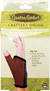 Dritz Crafters Thumb Glove - Medium