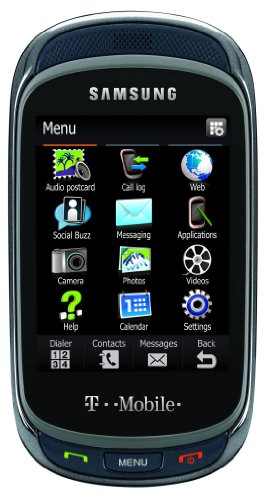 Samsung Gravity T t669 Phone, Steel (T-Mobile)