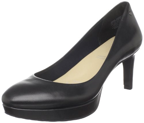 Rockport Women's Juliet Pump Black Platforms Heels K58546 7 UK