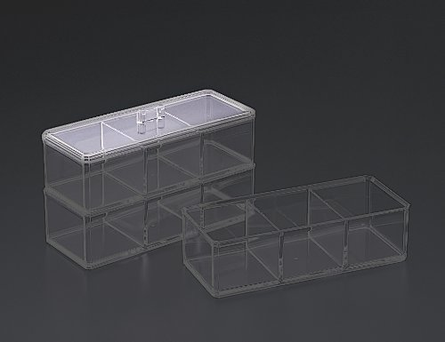 Stackable 3 Compartment Box Lid