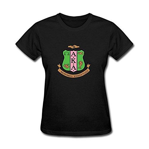 JXK Women's Alpha Kappa Alpha Logo AKA T-shirt Size M ColorName