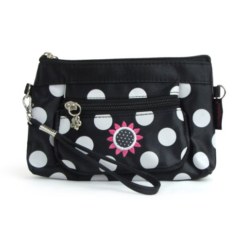 Mini-clutch Purse Classic Black Girls Pretend Makeup Cosmetics Purse - 1