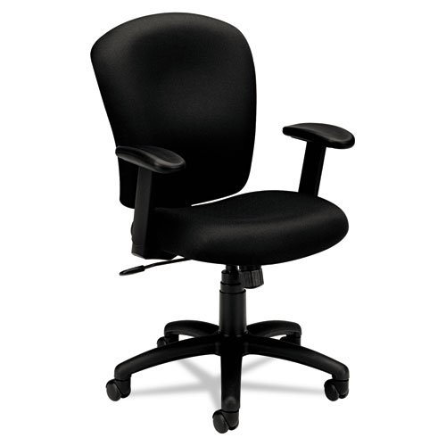 HON HVL220 Task Chair for Office or Computer Desk, Black
