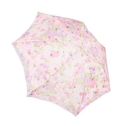 Paradise Bistratal Embroider Foldable Umbrella, Anti-UV Sun Umbrella, Parasol Series & Colors Varies