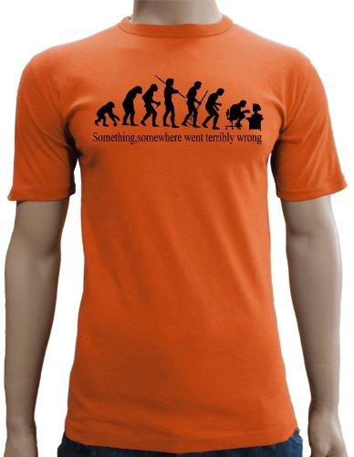 Some Thing, some where... Slim fit T-Shirt S-XXL colori assortiti arancione Medium