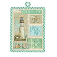 Coastal Lighthouse Kitchen Potholder
