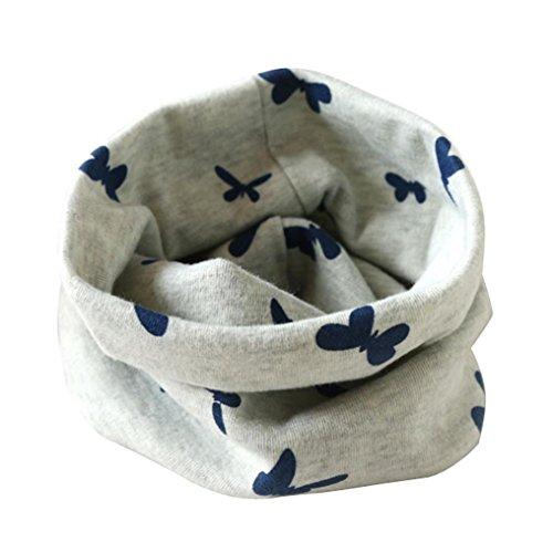 rosennie-street-boys-girls-collar-baby-scarf-cotton-trend-o-ring-neck-scarves-gray