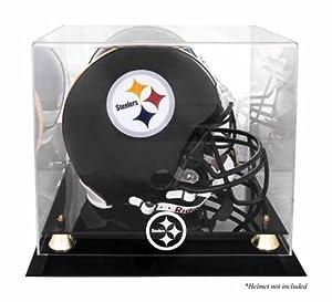 Mounted Memories Pittsburgh Steelers Helmet Display Case by Mounted Memories