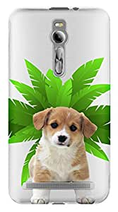 WOW Transparent Printed Back Cover Case For Asus Zenfone 2 5.5 inch ZE550ML