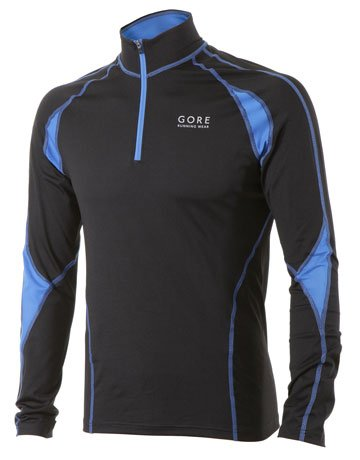 Gore Flash Running Wear Men's Shirt 2.0 Long - Black