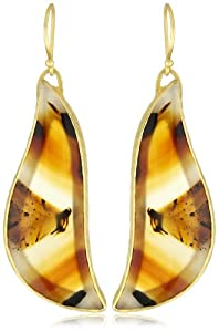 "Heather Benjamin ""Animal Agate"" Montana Agate Earrings"