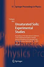 Unsaturated Soils Experimental Studies 93 Springer Proceedings in Physics