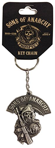 Sons of Anarchy Grim Reaper Logo Metal Keychain