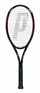 Prince O3 Red MP+ Prestrung Tennis Racquet (4 1/4)