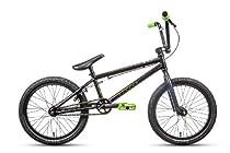 DK Bicycle Cygnus 2014 BMX Bike, Matte Black, 18-Inch