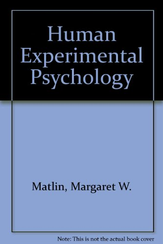 Human experimental psychology