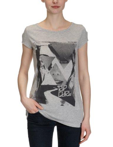 Rip Curl -  T-shirt - Zero  - Maniche corte  - Claro - Donna Grigio grigio XS