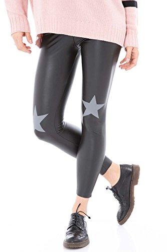 denny-rose-legging-donna-in-similpelle-64dr12025-40-xs-nero