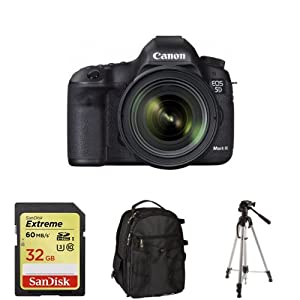 Canon EOS 5D Mark III with 24-70mm Lens + Free Accessories