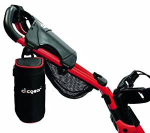 Clicgear Insulated Drinks Bag - Black/Red
