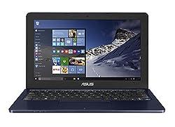 Asus E202SA-FD0003T 11.6-inch Laptop (Celeron N3050/2GB/500GB/Windows 10/Integrated Graphics), Dark Blue